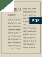 Articulo.importancia de La Investigacion de Mercados
