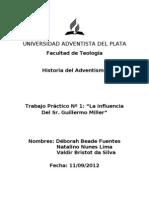 TP La Influencia Del Sr Miller 2011