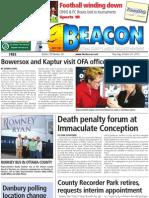 The Beacon - October 25, 2012