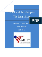 Israel on Campus Report 2012