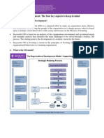Organisational Development Factsheet