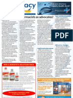 Pharmacy Daily for Fri 26 Oct 2012 - Pharmacist advocates, PBS price changes, New/extended listings, Anti-smoking drug and much more...