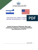 Base Institucional Implementar CAFTA 2004