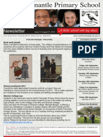 NFPS Newsletter Issue 13, August 31st 2012