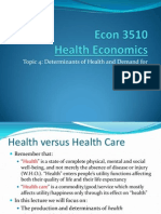 econ3510-topic4-determinantsanddemandforhealth