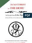 A.A.O. - The 156/663 Current & the DKMU (Liber Sigillum Excerpt)