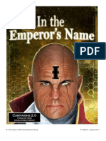 In the Emperors Name 2nd Edition Campaign System