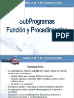 C++ Funcion y Procedimiento