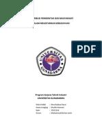 Makalah Ibd (Kontribusi Pemerintah Dan Masyarakat)