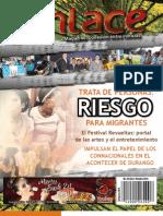 Enlace magazine, Conexión entre Culturas edición octubre del 2012