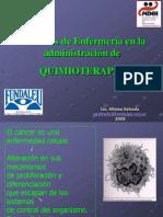 2-Enfermeria en La Administracion de QUIMIOTERAPIA
