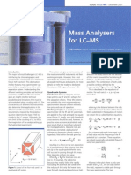 Mass Analysers for LC–MS