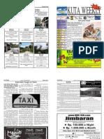 "Kuta Weekly-Edition 307 ""Bali""s Premier Weekly Newspaper"""