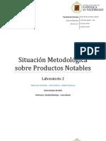 Situación Metodológica sobre productos notables listo