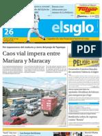 Elsiglo Maracay Viernes 26-10-2012