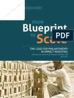 From Blueprint to Scale - Case for Philanthropy in Impact Investing