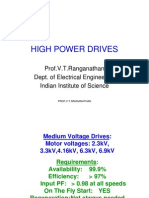 High Power Drives
