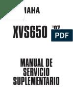 XVS 650 1997 SUPLEMENTO