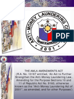 The Anti-Money Laundering Act of 2001
