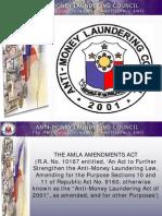 The Anti-Money Laundering Act of 2001