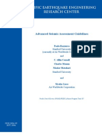 Advanced Seismic Assessment Guidelines