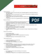 Sample Pestle and Sort Analysis