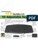 NEW Goldtouch V2 Intro GTU-0088