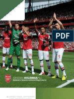 Arsenal FC, Annual Report 2012
