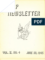 WASP Newsletter ~ 06/30/45