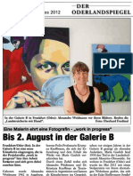 Oderlandspiegel, Frankfurt (Oder), 21. 07. 2012