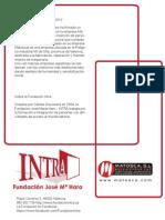 Acuerdo de la Fundación INTRA con Matosca SL