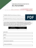 DocumentodeParticipación_25nMADRID_ELPATATERO