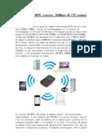 Unlocked ZTE MF91 routeur 100Mbps 4G LTE examen