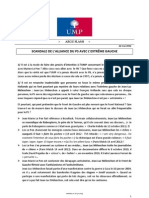 Argumentaire UMP 22 mai 2012 PS-Extrême gauche