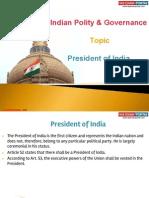 5(b)President of India