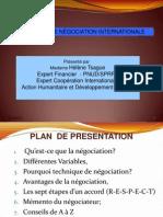 Technique de Négociation Internationale