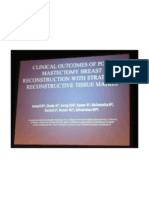 Clinical Outcomes of Post-mastectomy Breast Reconstruction With Strattice Reconstructive Tissue Matrix