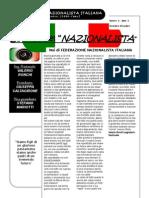 La voce del Nazionalista n°1 anno I - FEDERAZIONE NAZIONALISTA ITALIANA - tutti i diritti sono riservati da Federazione Nazionalista Italiana