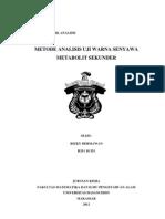 makalah organik analisis