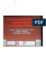 Complications Compared Morbidity After Different Breast Reconstruction Techniques