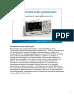 Fundamentos de Osciloscopios Para Estudiantes de EE