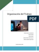 La organización del trabajo