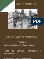 PRESENTACIÓN VÁLVULAS DE CONTROL