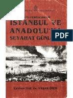 Hans Dernschwam  Anadoluya Seyahat Günlüğü