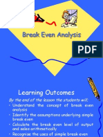 161 27 Breakeven Analysis