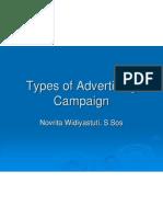 presentation on advertisement campaign......