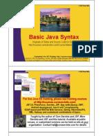 03 Basic Syntax