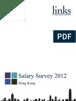 2012 Hong Kong Salary Survey