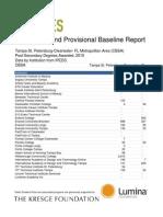 Talent Dividend Tampa Provisional Baseline Report Alpha