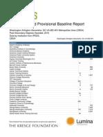 Talent Dividend Washington DC Provisional Baseline Report Alpha